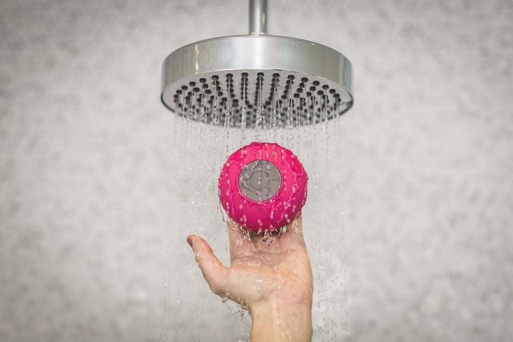 Enceinte haut parleur publicitaire bluetooth waterproof