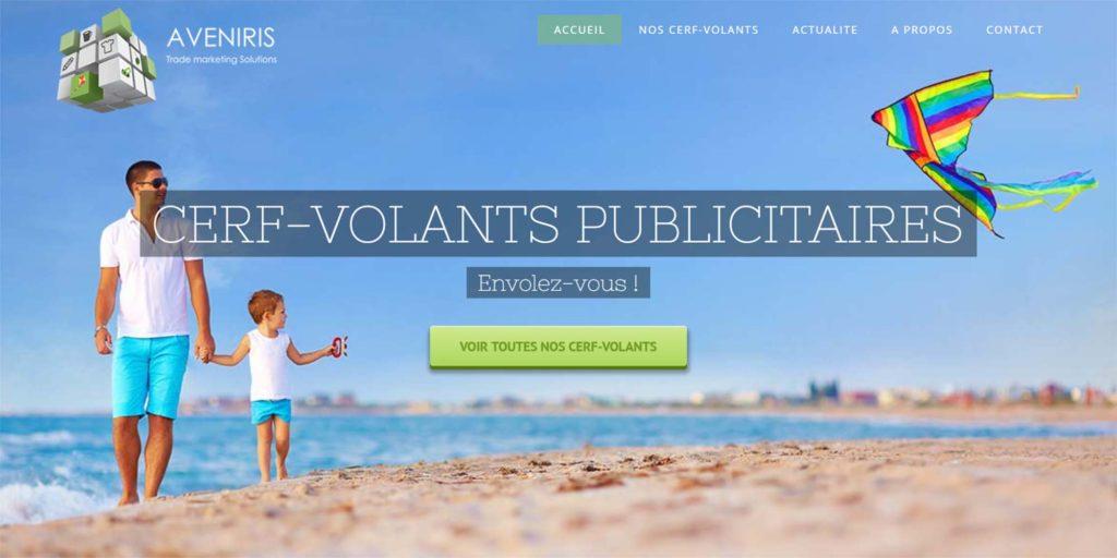 cerf-volant publicitaire website