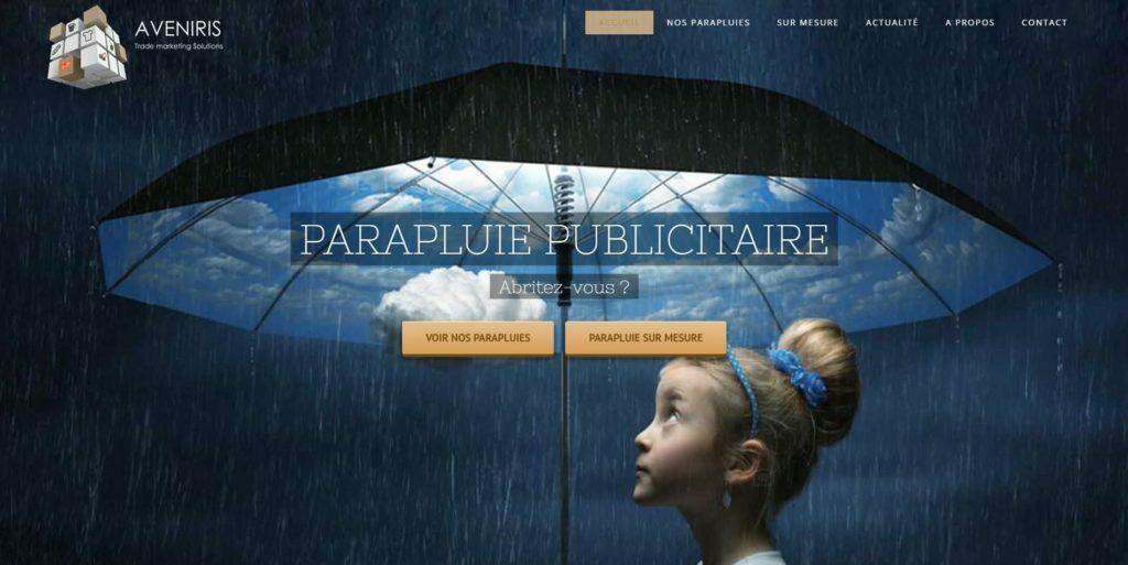 parapluie publicitaire website