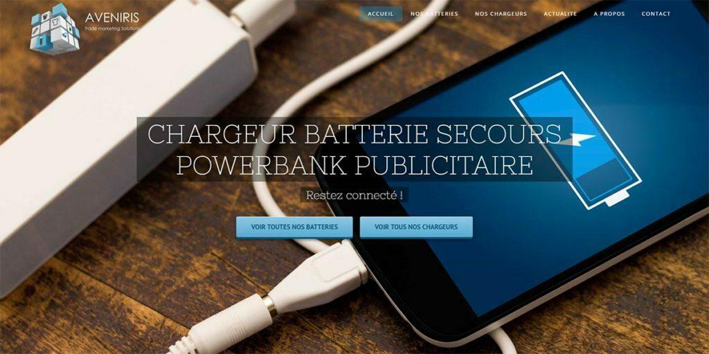 batterie-powerbank-chargeur publicitaire
