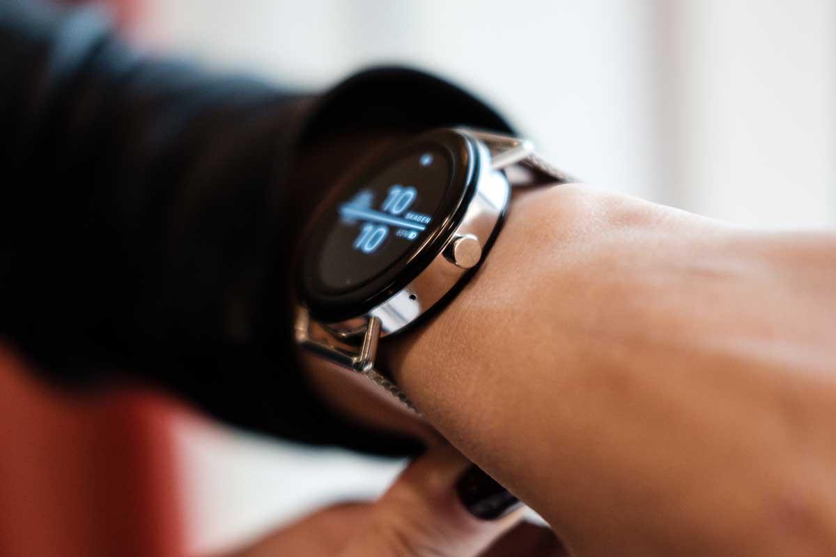 Smart Watch montre connecté publicitaire